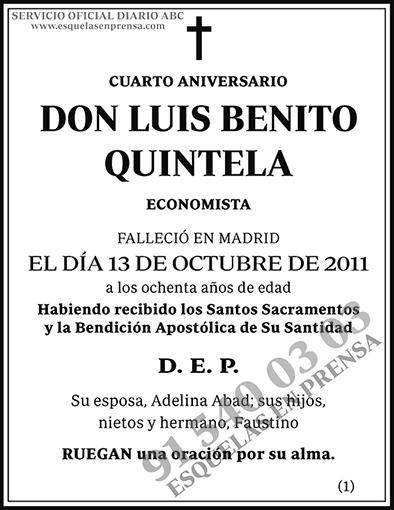 Luis Benito Quintela